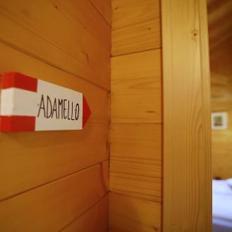 L'ingresso della camera Adamello
