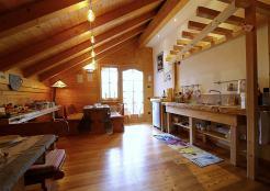 Sala colazioni e cucina