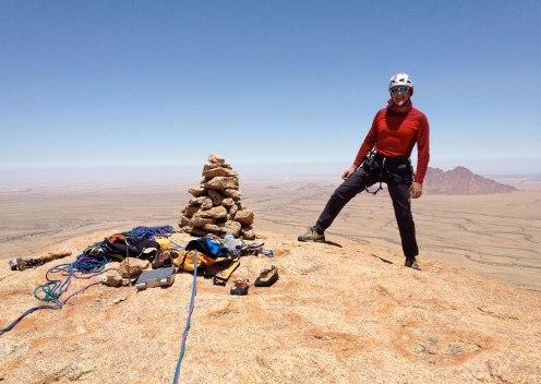 Claudio Kerschbaumer, Namibia